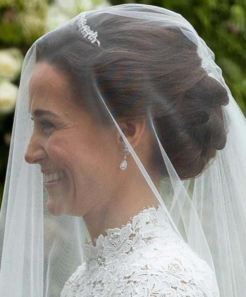 Celebrity Wedding Inspirations 2017 - Pippa Middleton Veil