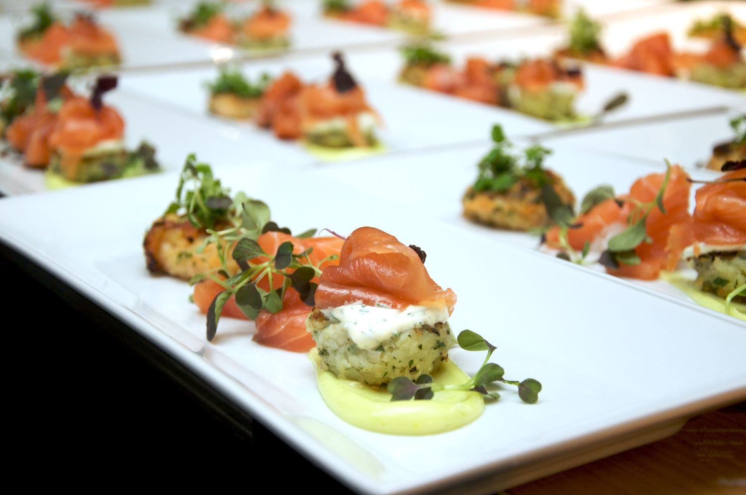 hors d'oeuvres - how to plan a corporate event
