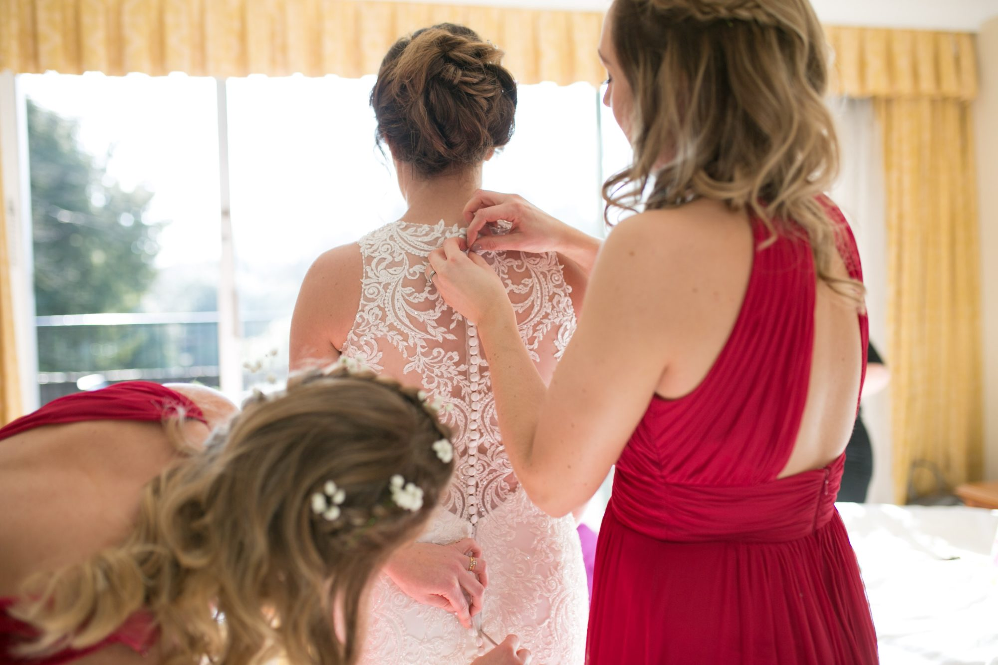 wedding day - maid of honor duties