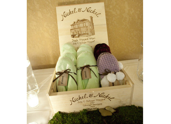 Winter Wedding Favors - Assorted Slippers