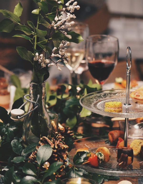 Winter Wedding - Fall Winter Holiday Table Decor
