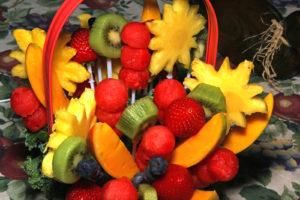 Fruit Arrangements in basket